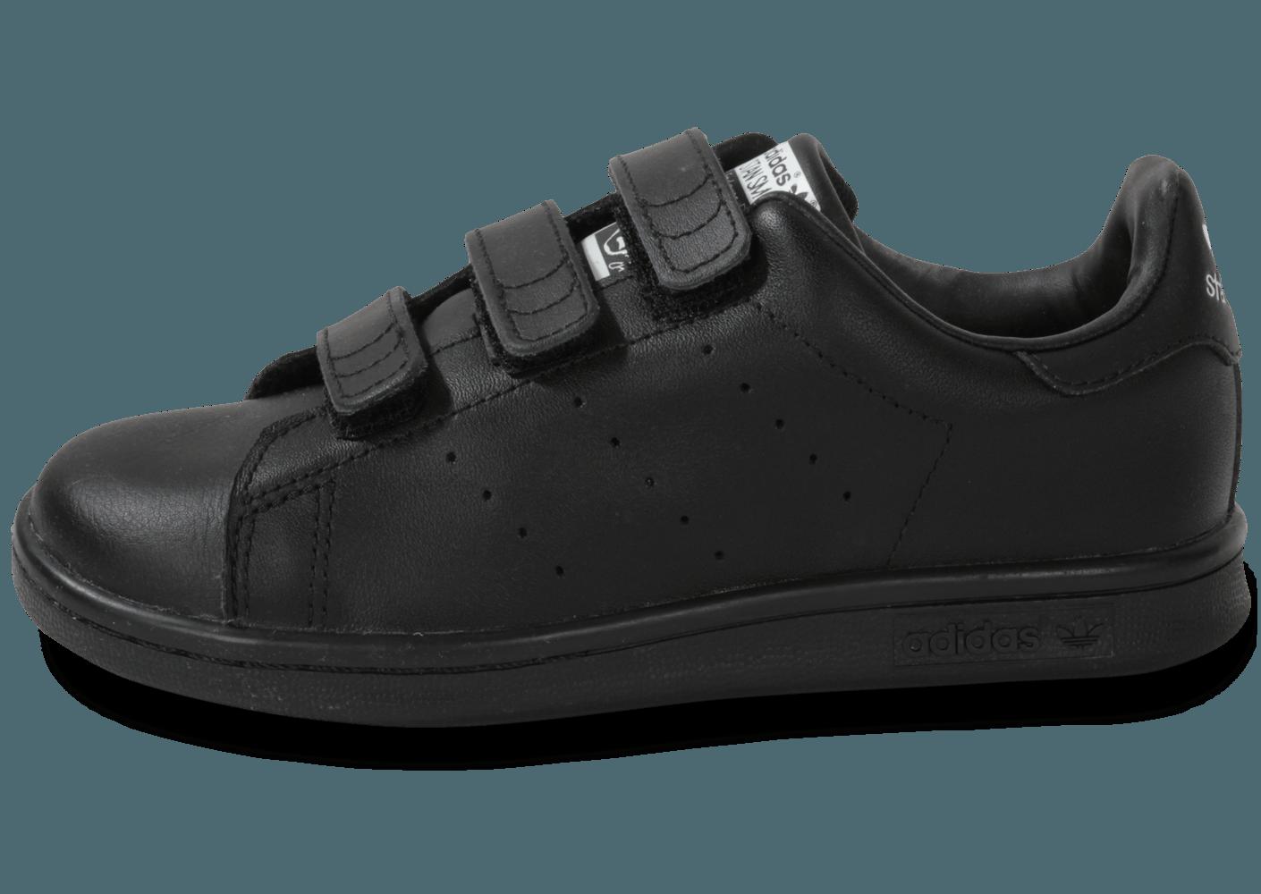Achetez élégant adidas stan smith noir scratch pas cher